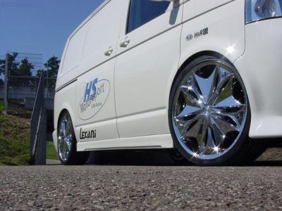 Seitenschweller VW T5 Edition V1 kurzer Radstand