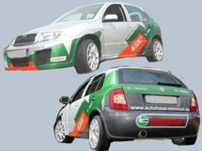 Wide-Bodykit Skoda Fabia 6Y WRC-Design