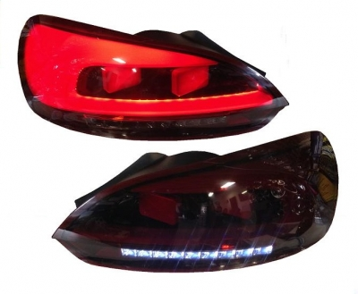 LED Rückleuchten VW SCIROCCO 08-14 red smoke DYNAMISCHER BLINKER