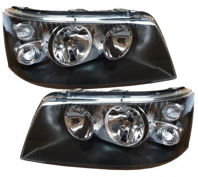 Scheinwerfer VW T5 Bus 03-09 Klarglas schwarz links rechts