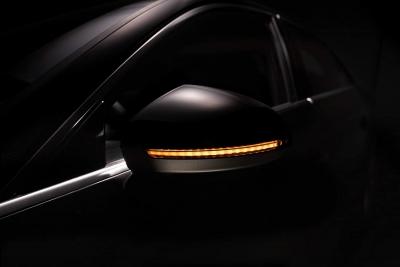 OSRAM Dynamischer LED Spiegelblinker Audi A4 B9 2016- Laufblinker BLACK-EDITION