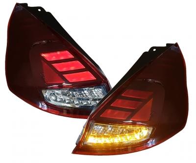 Osram Voll LED Rückleuchten Laufblinker Ford Fiesta JA8 MK7 09/12+ Facelift red rot