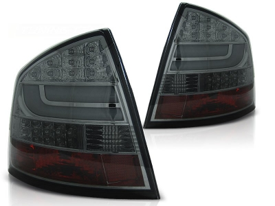 Lightbar LED Rückleuchten Skoda Octavia 1Z Limo 04+ smoke