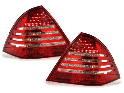 LED Rückleuchten Mercedes Benz W203 05-07 Limousine rot