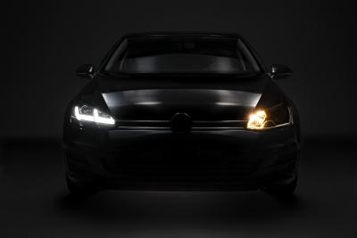 OSRAM LEDriving Scheinwerfer VW GOLF 7 Facelift 17-20 schwarz rot
