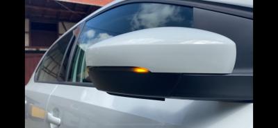 Dynamische Led Spiegelblinker schwarz VW Polo 6R 6C