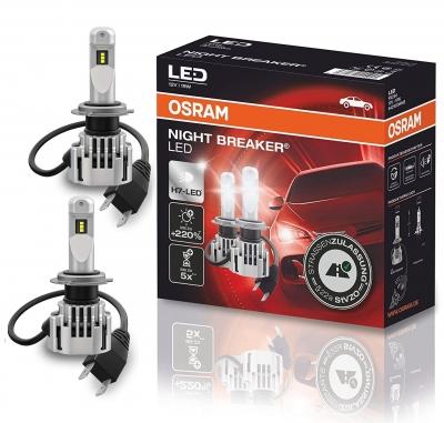 OSRAM NIGHT BREAKER LED H7 220% Set Skoda Octavia 5E 2013-2020