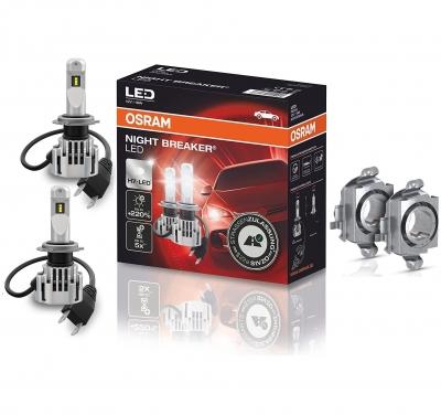 OSRAM NIGHT BREAKER H7 LED 220% Set für Mercedes Benz CLA C117 X117 13-18 DA03