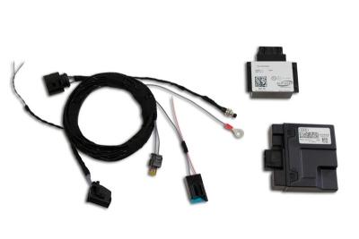 Komplettset active Sound inkl. Soundbooster VW Touareg 7L Var.2