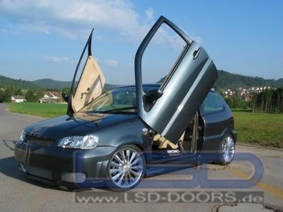 Flügeltüren LSD VW Polo 6N 3-Türer