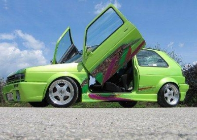 Flügeltüren LSD VW Golf 2