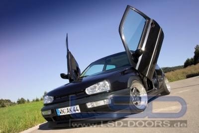 Flügeltüren LSD VW Golf 3 3-Türer