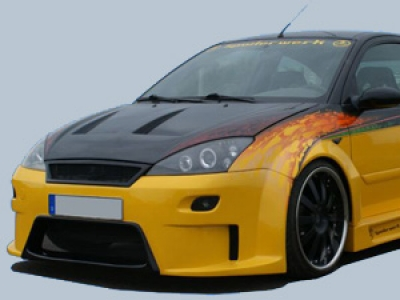 Wide-Bodykit Ford Focus MK1 Stufenheck RCL2