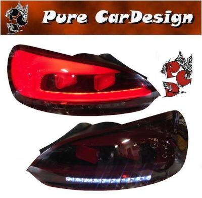 LED Rückleuchten VW SCIROCCO III 08+ red smoke LIGHTBAR