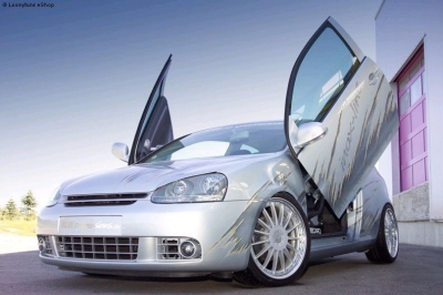 Flügeltüren LSD VW Golf 5 3-Türer