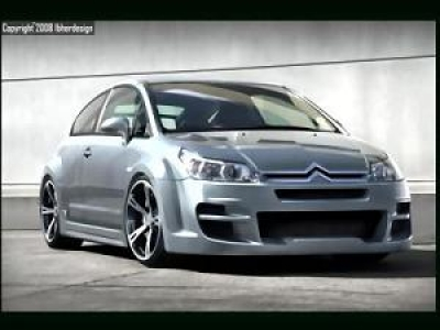 Wide-Bodykit Citroen C4 Coupé SinDrome