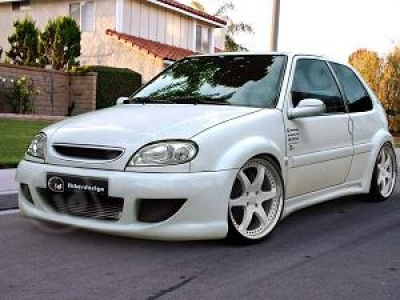Wide-Bodykit Citroen Saxo Warrior