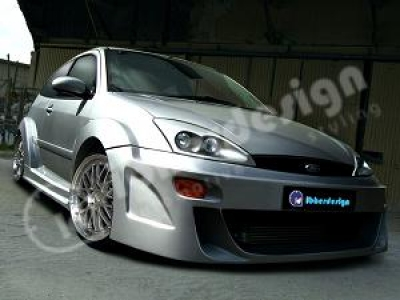 Wide-Bodykit Ford Focus MK1 Zion 3-türig