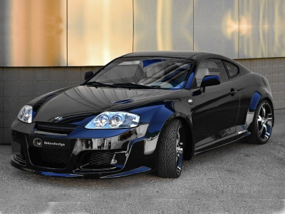 Wide-Bodykit Hyundai Coupe 02-07 Outlaw