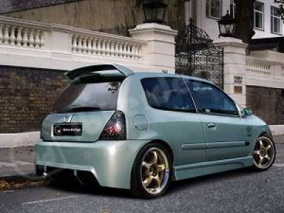 Heckschürze Renault Clio 2 Ph.2 Kombat