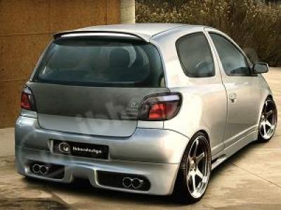 Heckansatz Toyota Yaris Sportive