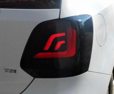 LED Rückleuchten VW Polo 6R 6C 09-17 schwarz DYNAMISCHER BLINKER