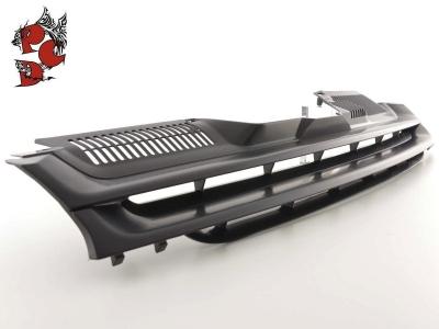 Frontgrill ohne Emblem VW Golf 5 V 03-09 schwarz ABS