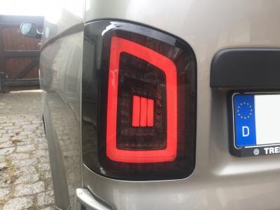 Voll LED Rückleuchten VW T6 2015+ schwarz grau Laufblinker Flügeltürer