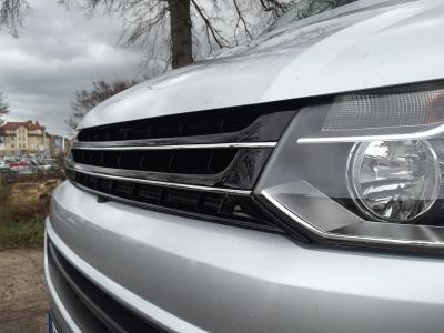 ABS Kunststoff Frontgrill Kühlergrill ohne Emblem VW T5 Facelift