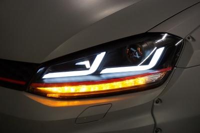 OSRAM LEDriving Scheinwerfer VW GOLF 7 13-17 schwarz rot