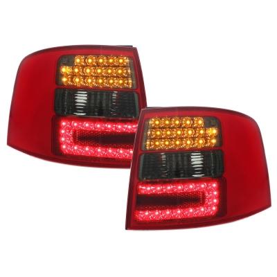 LED Rückleuchten rot rauch Audi A6 Avant 4B 97-05