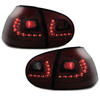 LED Rückleuchten VW Golf 5 03-09 rot DYNAMISCHER LED BLINKER