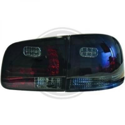 LED Rückleuchten VW Touareg 02-10 schwarz smoke