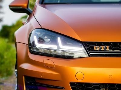 OSRAM LEDriving Scheinwerfer VW GOLF 7 13-17 schwarz chrom