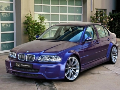 Wide-Bodykit BMW E46 Limousine Cosmic