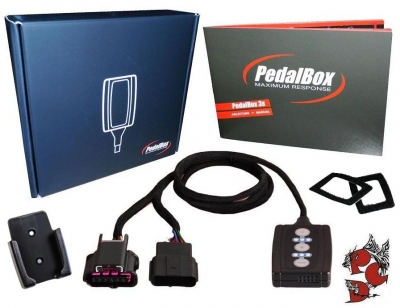 DTE Pedalbox Fiat Idea (Typ 350)(2003-2011) 1.2L 16V  80 PS