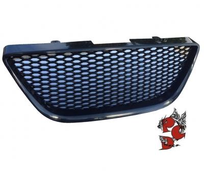 Frontgrill Seat Ibiza 6J 08-12 schwarz Waben-Design