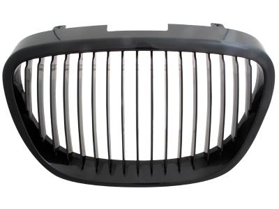 Frontgrill Seat Leon 1P 05-09 schwarz Streben-Design