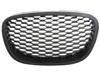 Frontgrill Seat Leon 1P 05-09 schwarz Waben-Design