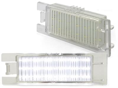 LED Kennzeichenbeleuchtung OPEL Zafira,Astra H,Corsa D,Insignia