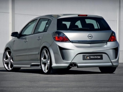 Heckschürze Opel Astra H 5-Türer Virus