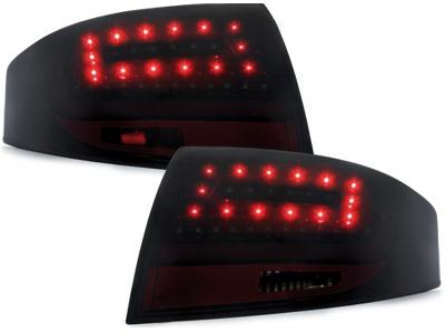 LITEC LED Rückleuchten Audi TT 8N 98-05 schwarz tiefschwarz
