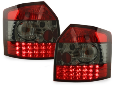 LED Rückleuchten Audi A4 B6 8E Avant 01-04 red/smoke