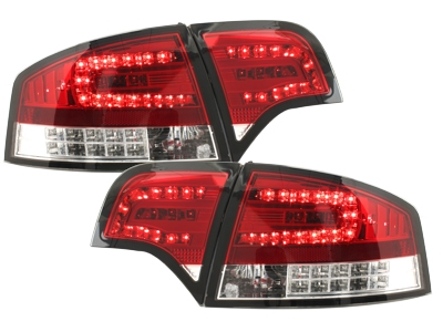 LED Rückleuchten Audi A4 B7 Lim.04-08 LED BLINKER rot