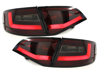 LITEC LED Rückleuchten Audi A4 B8 8K 08-11 Avant red/smoke LED