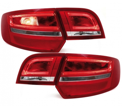 LED Rückleuchten Audi A3 8P Sportback 04-08 rot/klar DEPO