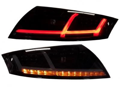Voll-LED Rückleuchten Audi TT 8J 06-14 schwarz/rauch 8S-Optik