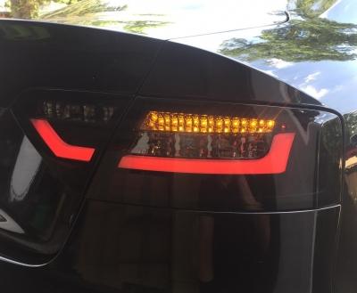 LED Rückleuchten schwarz Audi A5 8T 8F 07-11 Halogen