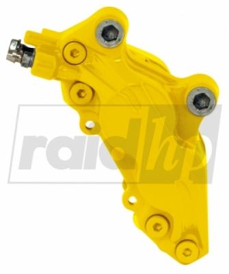 raid hp Bremssattellack gelb 6-teilig 2-Komponenten-System