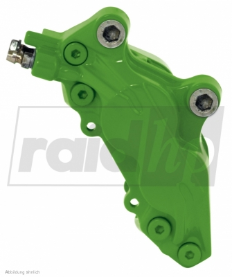 raid hp Bremssattellack grün 6-teilig 2-Komponenten-System